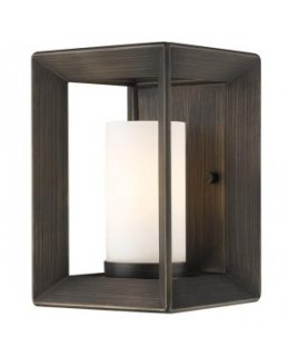Golden Lighting 2073-1W GMT-OP Smyth Wall Sconce