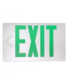 MXMLEU2GWEM 2W LED Emergency Exit Sign GREEN