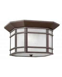 Hinkely 1273OZ-WH Cherry Creek Flush Ceiling Fixture
