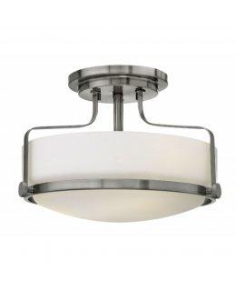 Hinkely 3641BN 15 Inch Harper Semi-Flush Ceiling Fixture