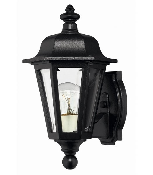 Hinkley 1819BK  Manor House Outdoor Wall Sconce