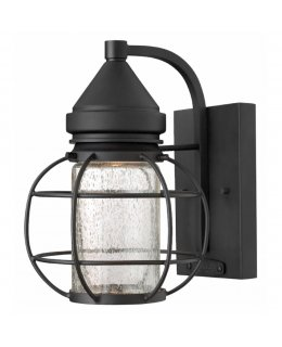 Hinkley 2250BK New Castle Outdoor Wall Sconce