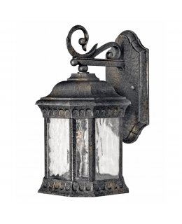 Hinkley 1720BG Regal Flat Base Outdoor Wall Sconce