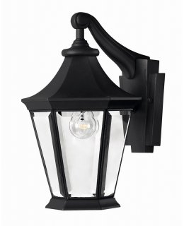 Hinkley 2500BK  Senator 14 inch Outdoor Wall Sconce