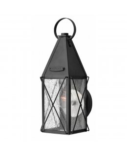 Hinkley Lighting 1840BK York Outdoor Wall Sconce