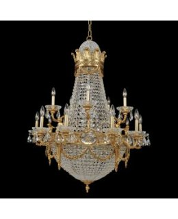 Kalco Lighting 020451-003-FR001 Marseille 36 Inch Chandelier