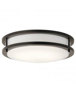 Kichler Lighting Model 10784OZLED 1078 Ceiling Light Fixture Olde Bronze-White Finish