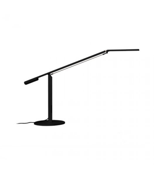 Koncept Lighting  ELX-A-W-BLK-DSK Equo LED Desk Lamp