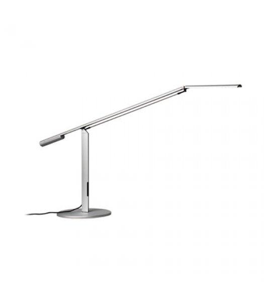 Koncept Lighting ELX-A-W-SIL-DSK Equo LED Desk Lamp