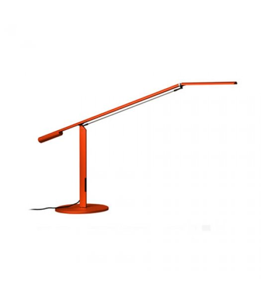 Koncept Lighting  ELX-A-W-ORG-DSK Equo LED Desk Lamp