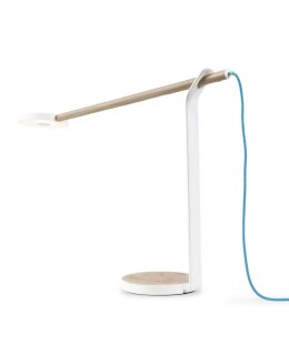 Koncept Lighting GR1-W-WOB-MWT-DSK Gravy LED Desk Lamp