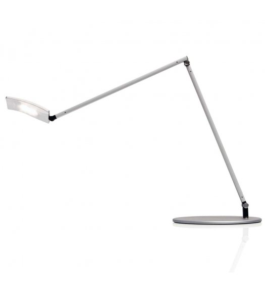 Koncept Lighting AR2001-SIL-USB Moso Pro LED Desk Lamp