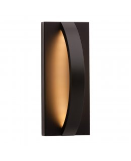 LBL Lighting Model OD818BLLEDW Hunter Outdoor LED Wall Sconce Light Fixture Black Finish