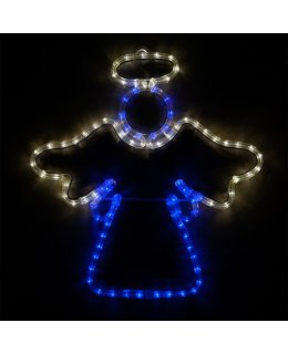 CLP13874  20 Inch LED Blue and Cool White Angel Christmas Light Display
