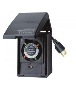CLP7775 Intermatic Outdoor Timer 15A Grounded w/2 on-off settings