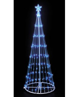CLP6881 Blue LED Lightshow Tree Christmas Light Display