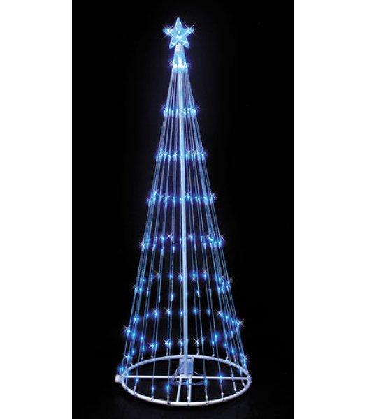 CLP6881 Blue LED Lightshow Tree Christmas Light Display