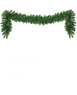 CLP13970 Commercial Grade 9 Ft Long - 14 Inch Wide Warm White LED Prelit Oregon Fir