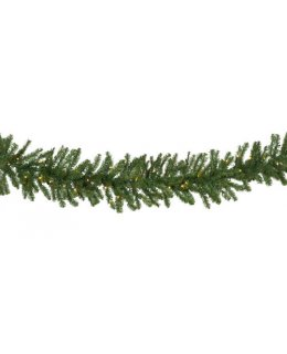 CLP13040 Commercial Grade 9 Ft Long - 14 Inch Wide Warm White LED Prelit Douglas Fir