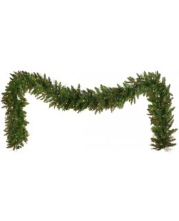 CLP13042 Commercial Grade 9 Ft Long - 14 Inch Wide Warm White LED Prelit Fraser Fir