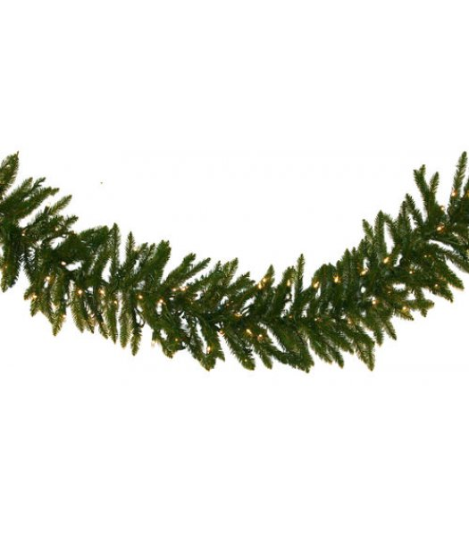 CLP12272 Commercial Grade 9 Ft Long - 14 Inch Wide Warm White LED Prelit Norway Spruce