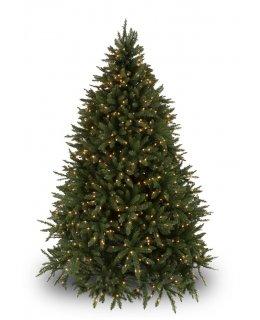 CLP7306  LED 4.5 FT Prelit Warm White DOUGLAS FIR Christmas Tree, 200 light count 10 YEAR WARRANTY