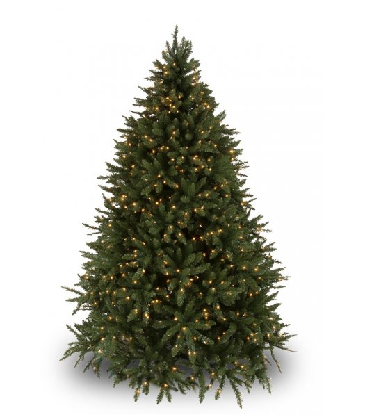 CLP7306  LED 4.5 FT Prelit Warm White DOUGLAS FIR Christmas Tree, 200 light count 10 YEAR WARRANTY