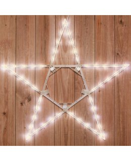 CLP13783 32 Inch LED Warm White Folding Star