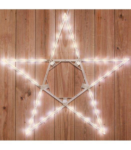 CLP13783 32 Inch LED Warm White Folding Star