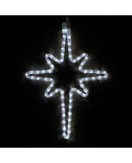 CLP13849 18 Inch Cool White LED Bethlehem Star Christmas Display
