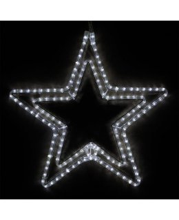 CLP13855 24 Inch Cool White LED Star Christmas Display