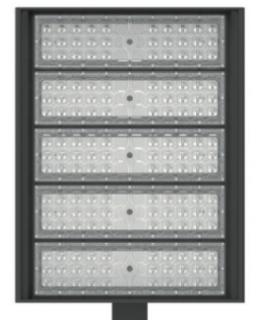 XASB300-50KUS 700W EQ Metal-Halide LED Shoe Box Parking Fixture 300W 5000K 31500 Lumens