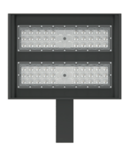 XASB060-50KUS 120W EQ Metal-Halide LED Shoe Box Parking Fixture 60W 5000K 6300 Lumens