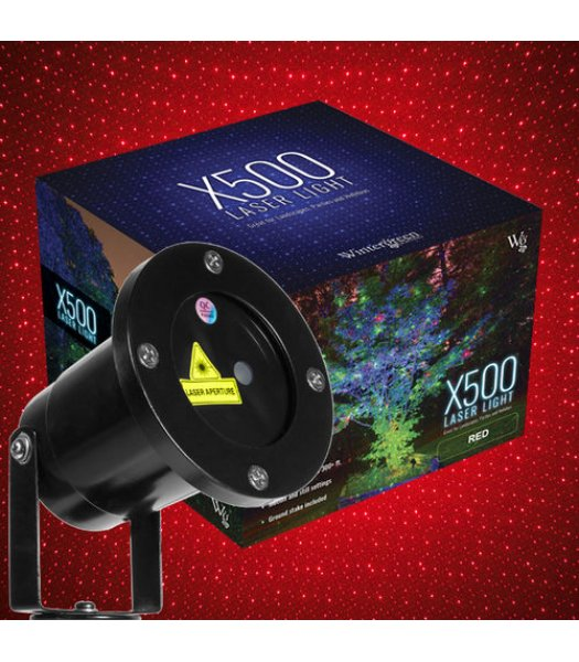 CLU73377 Red X500 Laser Light Displays up to 300 Ft