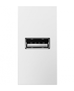 Legrand ARUSBW4 USB Outlet 1 Module White Finish