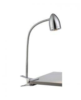 "Lite Source, Inc. Model LS-22325C  19"" Niko Clamp Desk Lamp Chrome LED 5W 3000K"