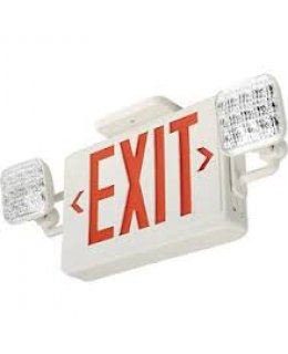 Lithonia Lighting ECR LED M6 Emergency Exit Sign-Light Combo