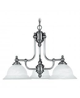 Livex LIV-4253-91 North Port 3 Light Chandelier
