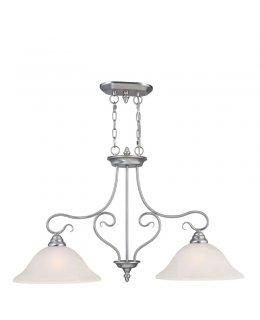 Livex LIV-6132-91 Coronado 2 Light Pendant