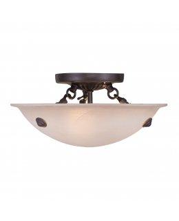 Livex LIV-5624-07 Oasis Semi-Flush 12 Inch Ceiling Fixture