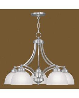 Livex LIV-4225-91 Somerset 5 Light 25 Inch Pendant