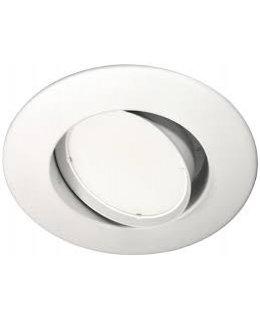 MXRRA61030W 75W Eq LED Adjustable Downlight Fixture 10W 6 IN 3000K 875 Lumens