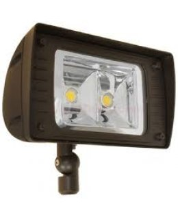 TCPLB4UNI841K10CSPF-WRAP-GUARD  85W LED Low Bay Fixture 8,000 lumens 4100K W- Prismatic Lens & Wire Guard