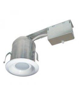 "MXRFR409ICAT30W 4"" LED Remodel Recessed Downlight Fixture 9W 3000K 500 Lumens"
