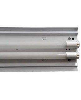 Maxilte  RS-482XT8   48 Inch (2) T8 Lamp Ready Fixture 120-277V