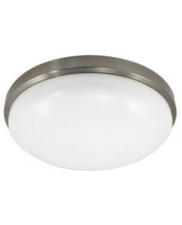 MXML2LA23LCBNIP827  100W EQ CEILING FIXTURE 23W LED CONTEMPORARY  17IN 2700K BRUSHED NICKEL ACRYLIC