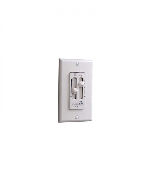 Minka Aire WC106-WH Wall Mounted 4 Speed Fan Control