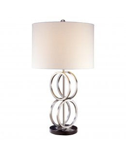 Minka Lavery Lighting Model 1429-84 Paradox 34 Inch Chanddelier Brushed Nickel-Etched Marble Finish
