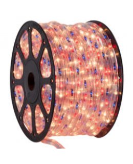CLU14995 STEADY Incandescent BLUE/RED/CLEAR 150 ft, 2 Wire, 120 Volt