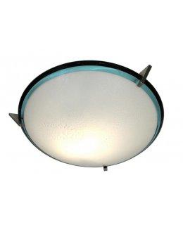 Oggetti Lighting Model  80-2427G  25 Inch 4 light Bimbi Bath Bar Satin Nickel-Bianco Finish